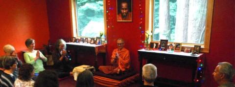 Picture of Swami Girijanada in class